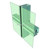aluminum curtain wall profile