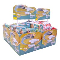 Baby Products Counter Cardboard Display Stand