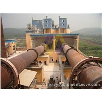 Cement Production Plant / Cement Drying Equipment / Automatic Cement Hollow Block Making Machine