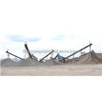 Complete Stone Crushing Production Line / High Efficiency Stone Jaw Crusher / Stone Production Lin