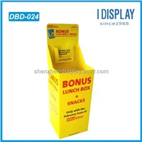 corrugated paper cardboard dump bins for retail