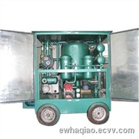 double-stage dielectric oil purifier, transformer oil filtering machine