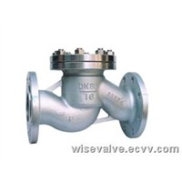 flanged lift check valve