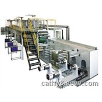 full servo disposable underpad production line