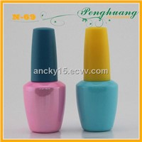 glass gel nail bottle factory supply