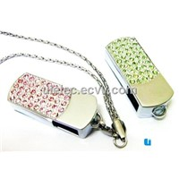handmade guitar usb stick, jewelry/crystal guitar usb, mini guitar shape usb with free keychain