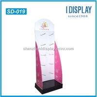 high quality floor hook display stand