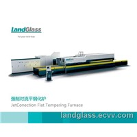 jet convection flat glass tempering furnace