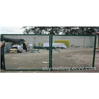 Manual and Automatic Steel Welded Wire Mesh Access and Driveway Gates
