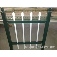 Metal Ornamental Fencewrought Iron Railing Designs Made in Factory with Powder Coat Line