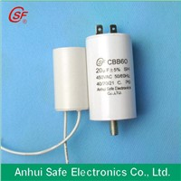metal film capacitor for  water pump