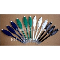 new plastic golf pencil with eraser