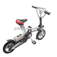 one second fodling electric bicycle