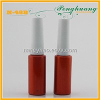 round high quality gel glass bottles