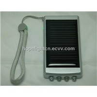Solar Emergency Charger with 4 Leds