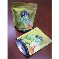 stand up ice tea packaging bags