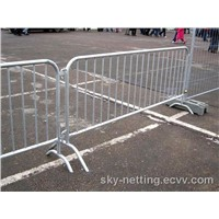 Superior Resistance to Pushing Crowds Crowd Stopper Galvanized Steel Barricade