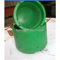 Plastic and Steel thread cap