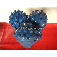 "three cone roller bit 8 1/2"" rubber sealed journal bearing made for oil well drilling"
