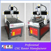 woodworking cnc router with rotary axis ZK-6090