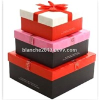 colorful gift packaging box