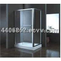 sliding door shower box