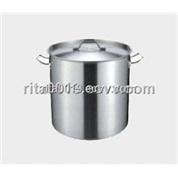 stainless steel stock pot brew pot  high pot