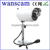 wanscam(JW0020)-cctv Outoor security Wireless infrared Camera with MJPEG,CMOS  IR free P2P