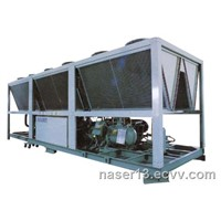 Industrial screw air chiller