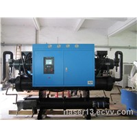 Industrial screw water chiller