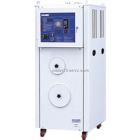 Plastic dehumidifying-drying machine