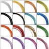 Decorative wire craft colored aluminum wire