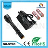 SG-ST80 Cree T6 LED Tactical Flashlight Rechargeable Flashlight