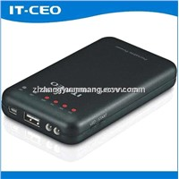 5000mAh high efficient mobile power bank for smart phone from shenzhen