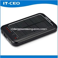 5600mAh universal solar power bank for iPad iPhone5 and SAMSUNG