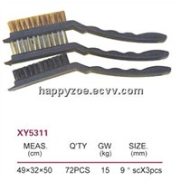 9'' brush set