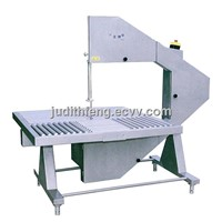 Band saw for meat processing