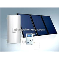 Black collector solar thermal system