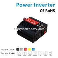 Classic Style DC-to-AC Power Inverter with Automatic Shutdown Feature and Low Power Level Warning