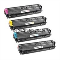 Color Toner Cartridge HP CE740a CE741a CE742a CE743a