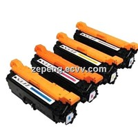 Color Toner cartridge HP CE250X CE251X CE252X CE253X