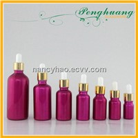 Dropper oil glass bottles
