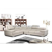FD2119 newest design living room furniture leather sofa