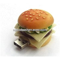 Gifts Hamburger USB 8GB 4GB Thumb Drive