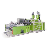 LYM Series Double Layers Stretch Film  Making Machine Production Line