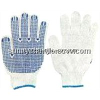 PVC  Dots work Gloves