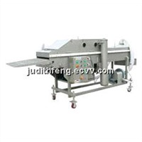 Preduster / instand food processing machine
