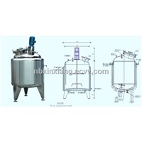 Py Series Stainless Steel Liquid Mixing Tank