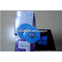 Wholesale windows 8 professional retail full package, 32&64bit disc full box