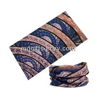 100% Polyester Microfiber Multifunctional Seamless Headscarf